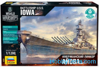 USS 'Iowa' battleship
