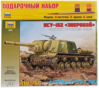 Model Set. ISU-152 Soviet tank destroyer