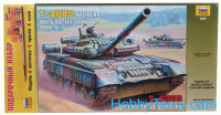 Gift Set. T-80BV Russian main battle tank