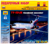 Gift Set. Tupolev Tu-154 airliner