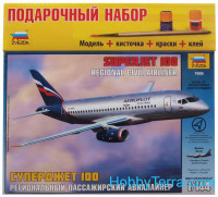 Gift Set. Sukhoi Superjet 100