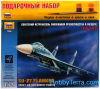 Gift Set. Sukhoi Su-27 fighter