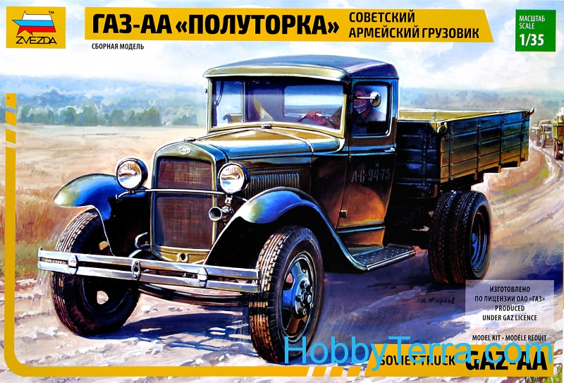 GAZ-AA Soviet Light Truck WWII