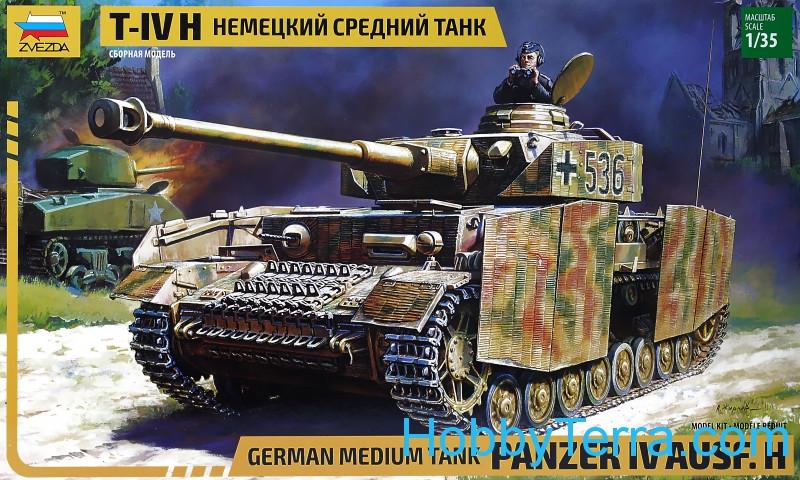 Zvezda 3620 Panzer IV Ausf H German medium tank