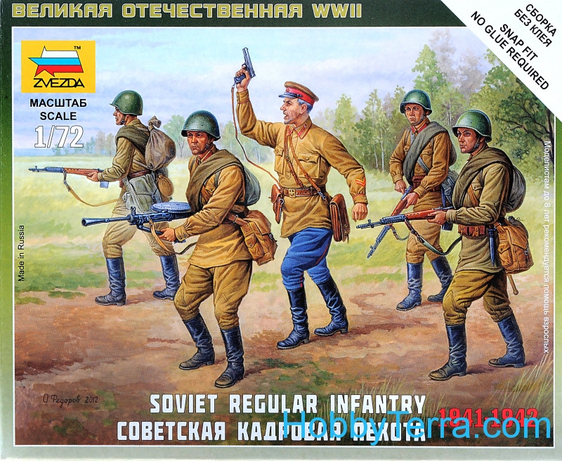 Soviet Regular Infantry