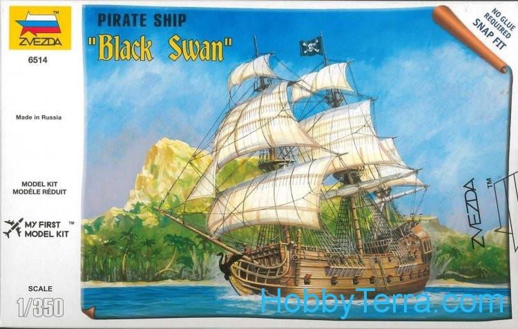 """Black Swan"" Pirate ship"
