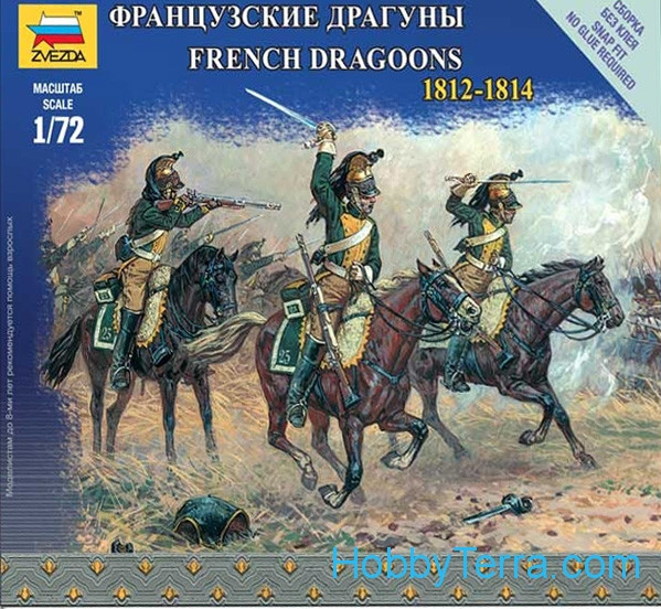 French Dragoons, 1812-1814