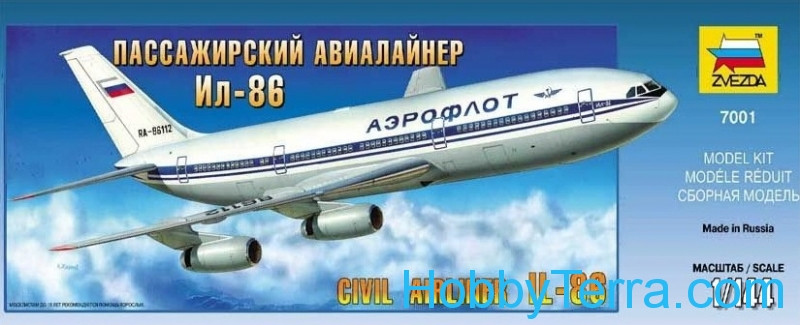 IL-86 Russian civil airplaner