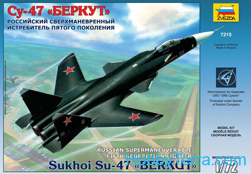 Su-47 'Berkut' Russian fighter