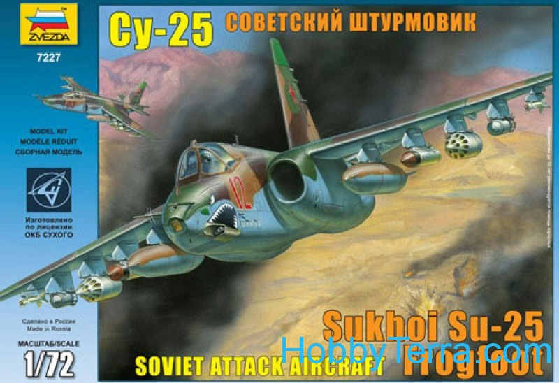 "Su-25 ""Frogfoot"" Soviet attack fighter"