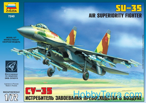 Su-35 Russian fighter-bomber