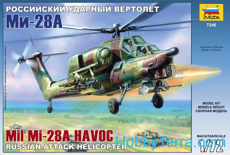 "Mi-28A ""Havoc"" Russian attack helicopter"