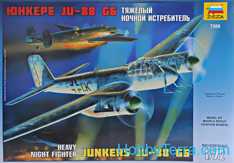 Junkers Ju-88G6 German heavy night fighter