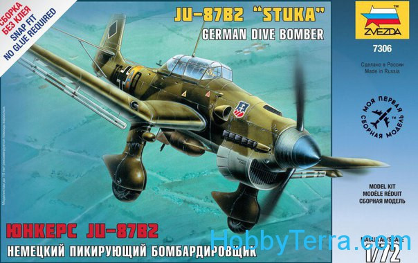 Ju-87B2 'Stuka' German dive bomber