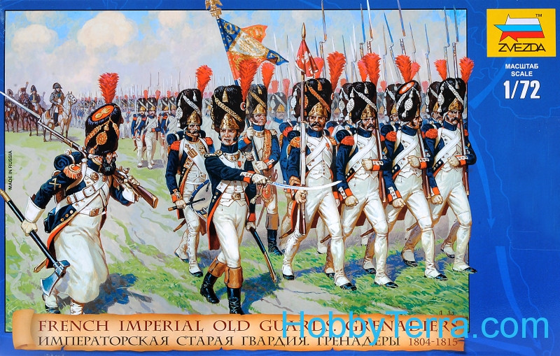 French Emperors old guards, 1805-1815