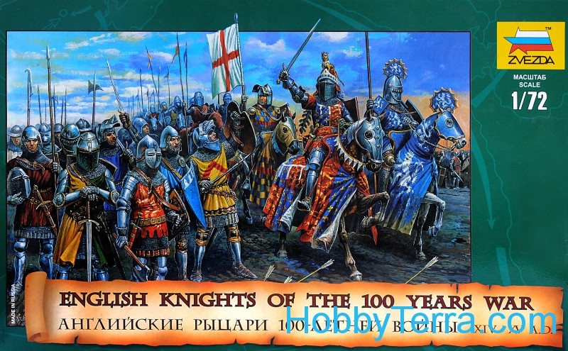 English knights. 100 Years War, XIV-XV A.D.