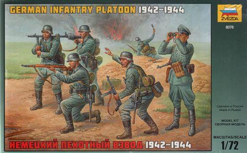 German infantry platoon, 1942-1944