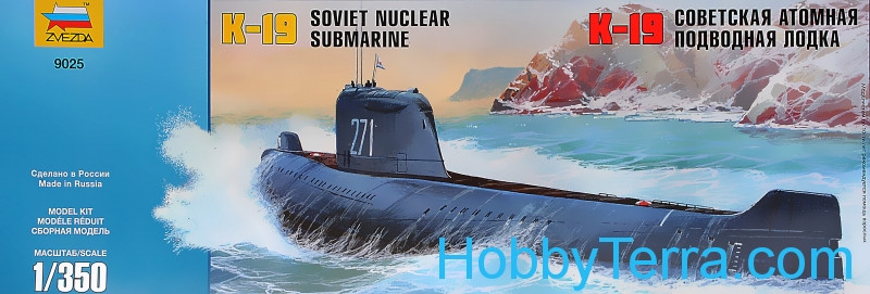 K-19 Soviet nuclear-power submarine