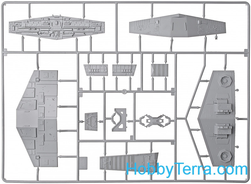 Star wars. Imperial Star Destroyer Zvezda 9057 HobbyTerra.com
