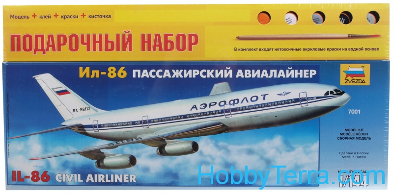 Gift Set. Ilyushin Il-86 airliner
