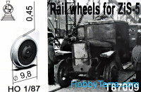 Set for ZiS-5 (Rail wheels)