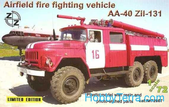 AA-40 ZiL-131 airfield fire fighting vehicle