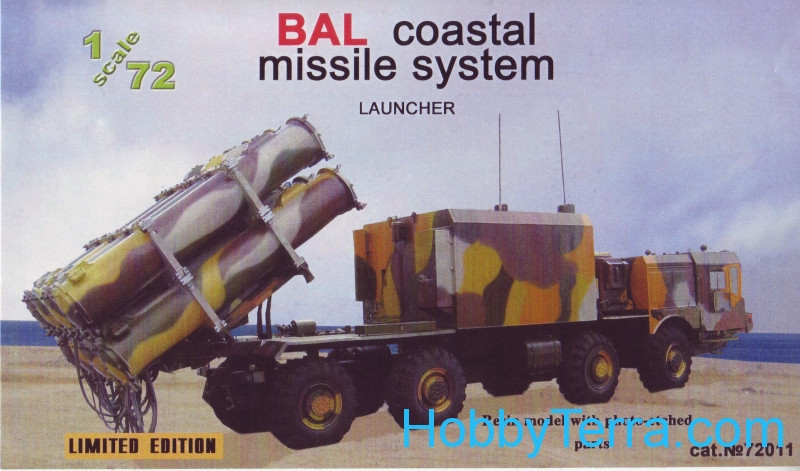 """Ball"" coastal missile system launcher"
