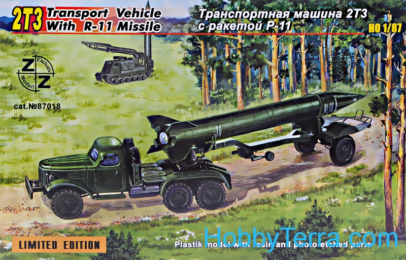 ZZ Modell  87018 2TZ Soviet transport vehicle with R-11 missile