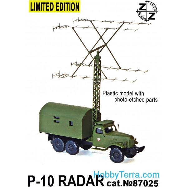 P-10 Soviet radar vehicle