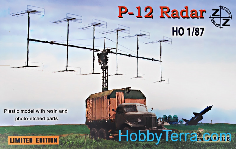 ZZ Modell  87026 P-12 Soviet radar vehicle