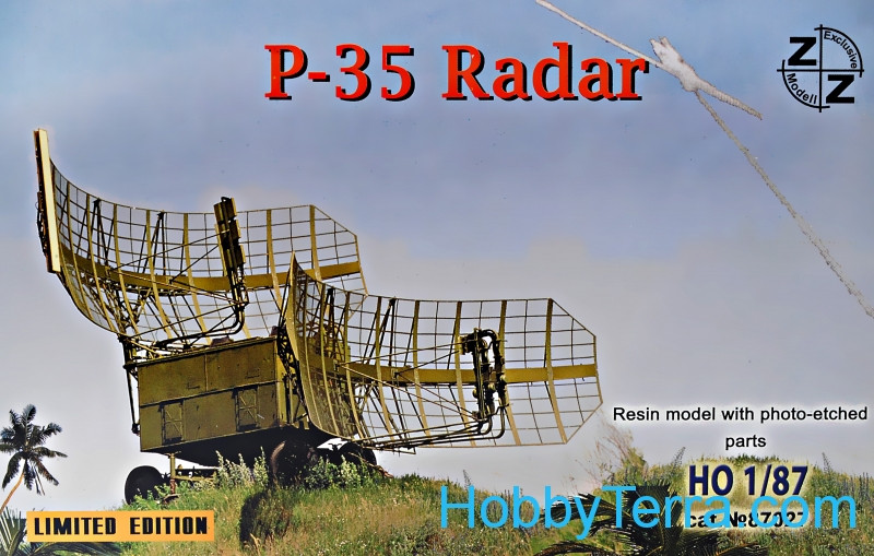 P-35 Soviet radar vehicle