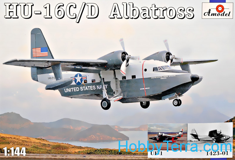 Amodel  1423-01 HU-16C/D Albatross decal UF + 1 (1424)