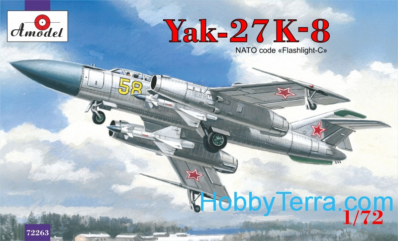 Amodel  72263 Yak-27K-8 interceptor