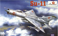 Su-11 Soviet fighter- interceptor