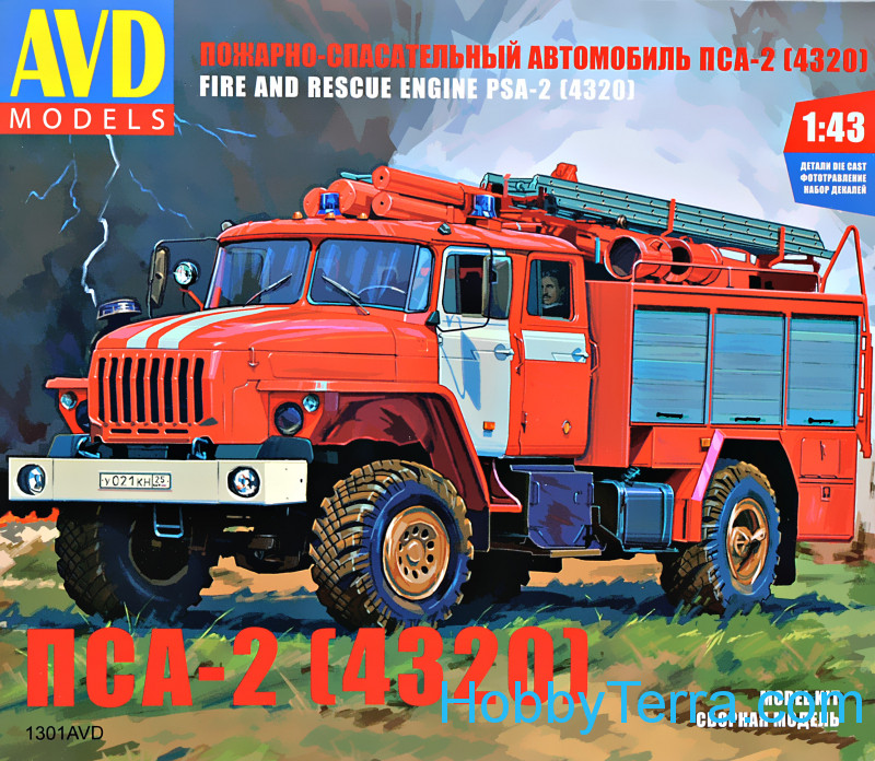 AVD Models  1301 Fire and rescue vehicle PSA-2 (4320)