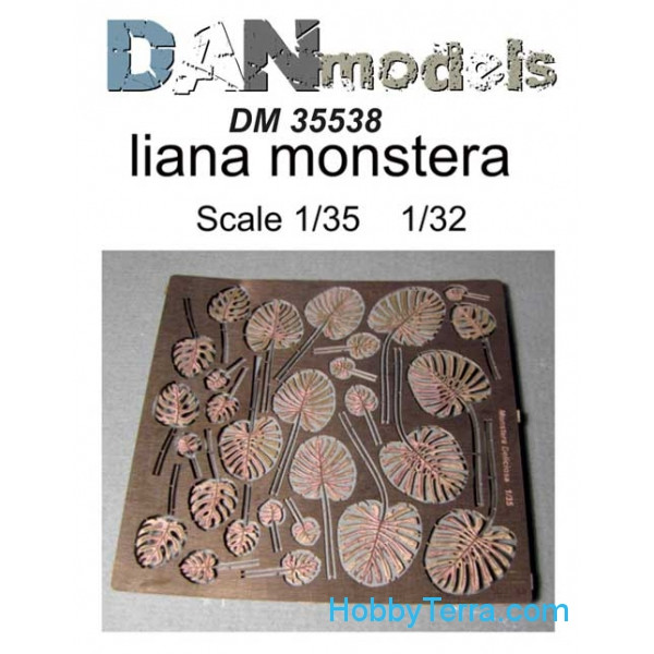 DAN models  35538 Photo-etched set 1/35 Liana monstera