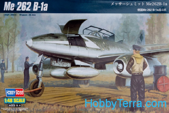 Hobby Boss  80378 Me 262 B-1a trainer aircraft