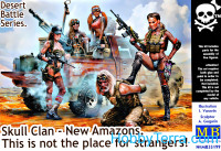 Skull Clan - New Amazons. This is not the place for strangers!