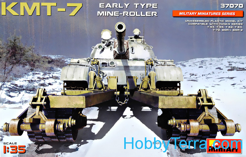 Miniart  37070 KMT-7 mine-roller, early type