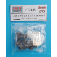 BDSh-5/Big Smoke Canister-5 for soviet tanks (10 per set)