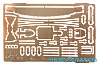 Photo-etched set 1/35 Pioneer tools for BTR-70/80