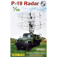 P-19 Soviet radar vehicle, plastic/resin/pe