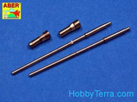 Set of 2 barrels 1/24 for German aircraft 20mm machine guns MG151/20