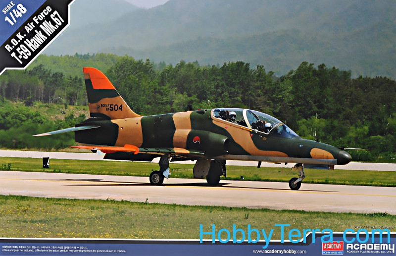 Academy  12236 ROK Air Force T-59 Hawk Mk.67