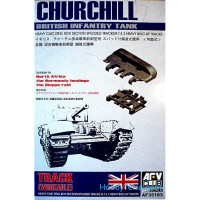 Tracks workable 1/35 for Churchill tank