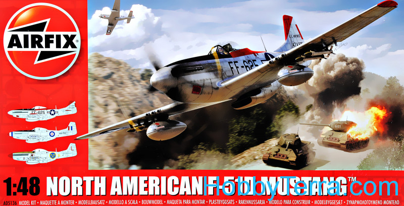 Airfix  05136 North American P-51D Mustang