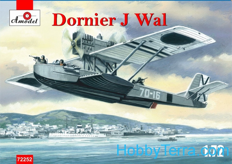 Amodel  72252 Dornier J Wal, Spain War