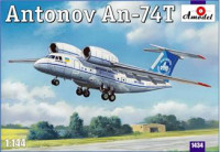 Antonov An-74T transport aircraft