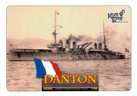 French Danton Battleship, 1911 (Water Line version)