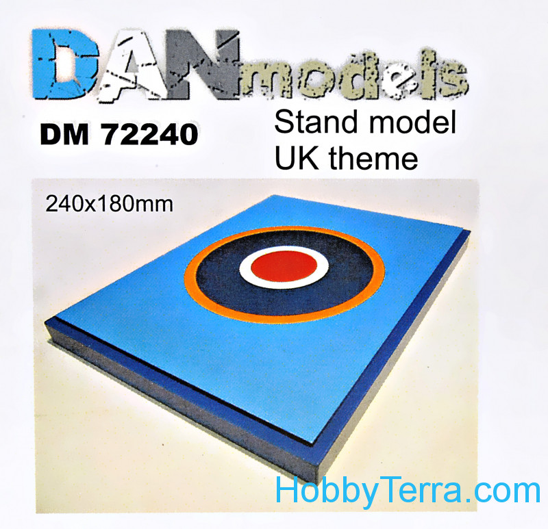 DAN models  72240 Display stand. United Kingdom theme, 180x240mm